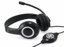 Revenda Auscultadores Conceptronic - Conceptronic USB Auscultadores - Preto