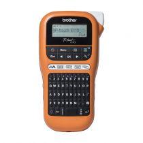 Stampanti a trasferimento termico - Brother PTE110VP - Rotuladora Eletrónica portátil profission