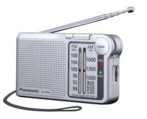Comprar Rádios / Recetores Mundiais - Radio Panasonic RF-P150DEG-S prata