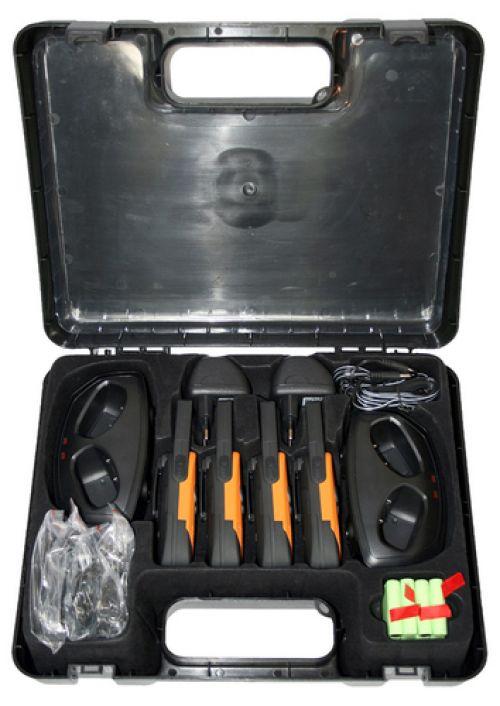 Walkie Talkies DeTeWe Outdoor 8000 Quad Case PMR Walkie Talkie