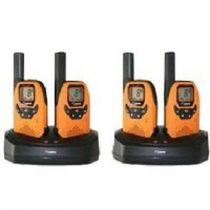 Revenda Walkie Talkies várias marcas - Walkie Talkies DeTeWe Outdoor 8000 Quad Case PMR Walkie Talkie