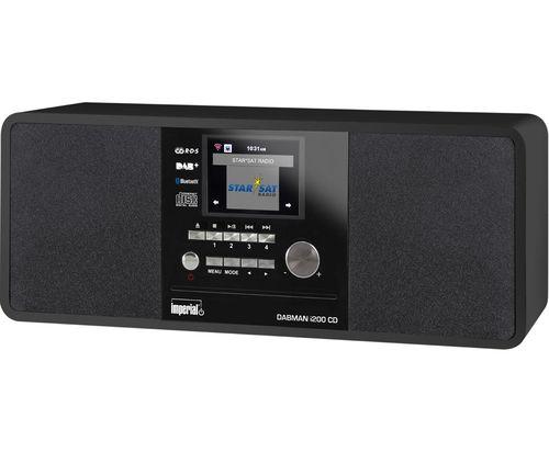 Comprar  - Rádio para Internet Imperial DABMAN i200 CD black