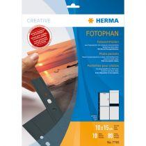 Revenda Arquivos Fotografia - Herma fotophan 10x15 vertical 10 Sheets Preto 7785