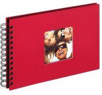 Revenda Arquivos Fotografia - Walther Fun red Spiral 23x17 40 Preto Pages SA109R