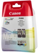Cartucce stampanti Canon - Canon PG-510 / CL-511 Multi pack Blistered with Security