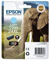 Cartucce stampanti Epson - Epson Cartucce Cyan claro Série 24XL Elefante Tinta Claria P