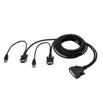 Splitter - Belkin OmniView Dual-Port OCTOPUS Cable Kit USB 1,8 m