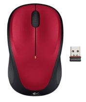 Mouse senza fili - Rato Senza fili Logitech M235 red