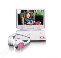 Comprar Leitores DVD Portateis - Leitor DVD Lenco DVP-910 pink