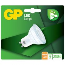 Lampade LED - GP Lighting LED Reflector GU10 Glass 4W (35W)