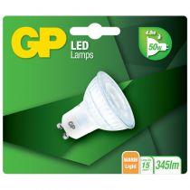Lampade LED - GP Lighting LED Reflector GU10 Glass 4,8W (50W)