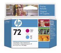 Cartucce stampanti HP - HP Cabeça de sCover  HP 72 Magenta and Cyan