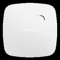 Kit allarme - Ajax AJ-FIREPROTECT-W Detetor de fumo e sensor de temperatur