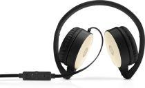 Revenda Auscultadores Outras Marcas - HP Stereo Auscultadores H2800 - Preto / Silk Gold