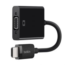 Cavi - Belkin HDMI/VGA Adattatori Nero w. Micro USB connection AV10