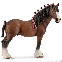 Revenda Figuras Animais - Schleich Farm Life Clydesdale Stallion 13808