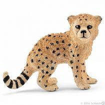 Revenda Figuras Animais - Schleich Wild Life Baby Cheetah 14747