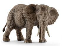 Revenda Figuras Animais - Schleich Wild Life African Female Elephant 14761