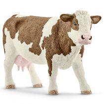 Revenda Figuras Animais - Schleich Farm Life         13801 Simmental Cow
