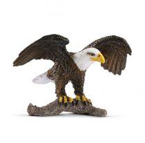 Revenda Figuras Animais - Schleich Wild Life 14780 Bald Eagle