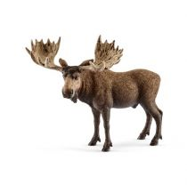 Revenda Figuras Animais - Schleich Wild Life         14781 Bull elk
