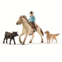 Revenda Figuras Animais - Schleich Farm World        42419 Western Riding