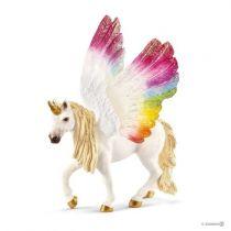 Revenda Figuras Animais - Schleich bayala 70576 Winged Rainbow Unicorn