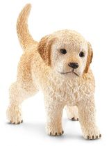 Figurini Animali - Schleich Farm Life Golden Retriever puppy
