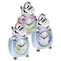 Orologio e Sveglia - Mebus 26637 Kids Alarm Clock Zebra    colour assorted