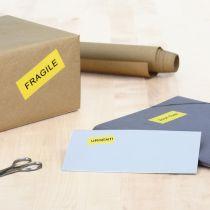 Revenda Papel - Herma Coloured Label yellow 4406 100 Sheets 2400 pcs.      70x37