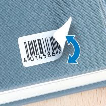 Revenda Papel - Herma Removable Labels 45,7x21,2 25 Sheets DIN A4 1200 pcs. 4346