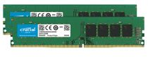 Memorie Desktop - Crucial 32GB Kit DDR4 2666 MT/s 16GBx2 DIMM 288pin DR x8 unb