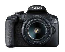 Revenda Camaras Digitais Canon - Câmara digital Canon EOS 2000D Kit + EF-S 18-55 IS II