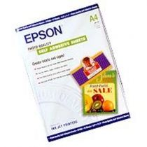 Carta - Epson Photo Quality Inkjet Paper A4, 10 sh.,167g selfadh. S0