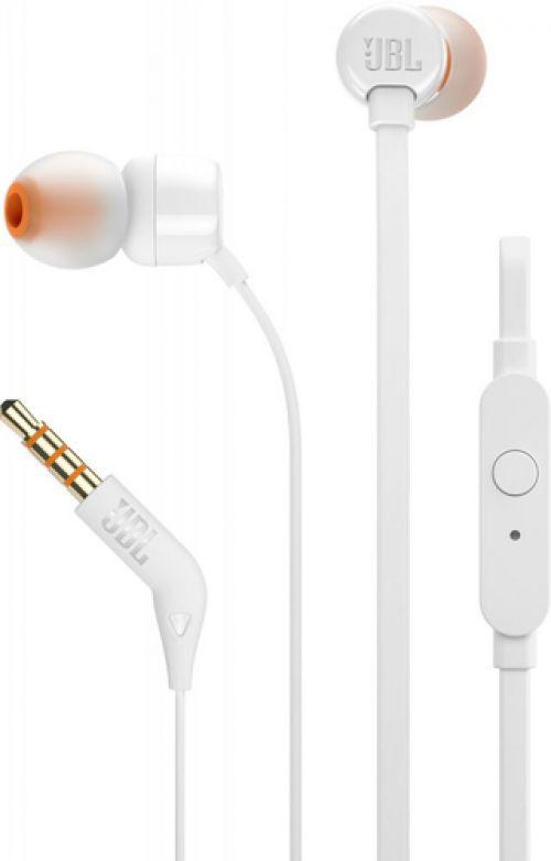 JBL IN-EAR Auscultadores T110 Branco
