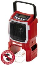 Radio Cassette CD Player - Radio Einhell TE-CR18 Li - Solo, AUX-In, LCD