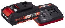 Caricabatteria per strumenti - Caricabatteria Einhell Power-X-Change Starter-Kit 18Volt 4Ah