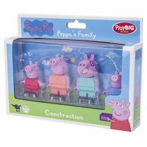 Altri giocattoli / giochi - BIG PlayBIG Bloxx Peppa Pig Peppa´s Family