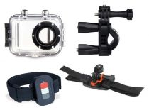 Altri Accessori Videocamara Action - Full Acessory Kit per Goxtreme Power Control