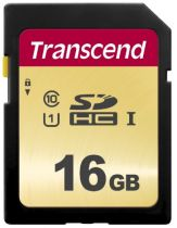 Secure Digital SD - Transcend SDHC 500S         16GB Class 10 UHS-I U3 V30