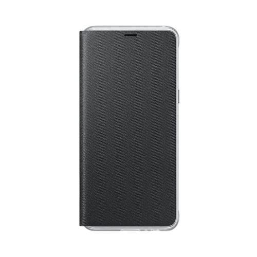 Comprar  - Capa Original Samsung Galaxy A8 2018 Neon Flip Cover Preta