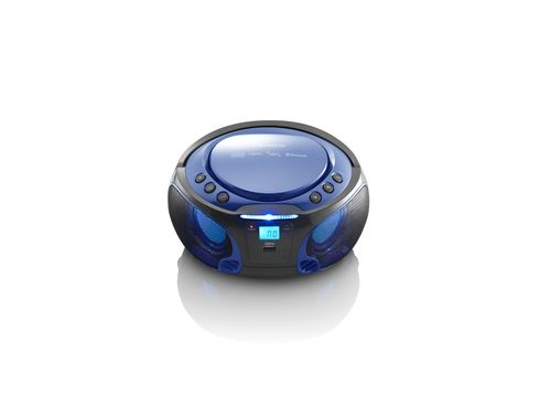 Comprar  - Radio CD Lenco SCD-550 blue
