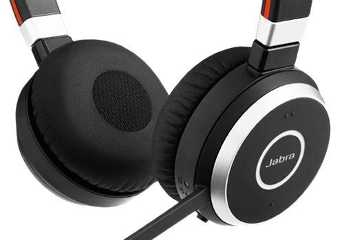 Auscultadores GN Netcom Jabra Evolve 65 UC Duo   Telefones fixos - Lan