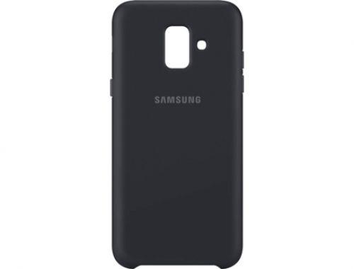 Comprar  - Capa Samsung Dual Layer para Galaxy A6 2018 Preto (EF-PA600CBEGWW)