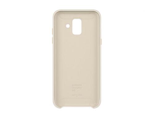 Comprar  - Capa Samsung Dual Layer para Galaxy A6 2018 GOLD (EF-PA600CFE)