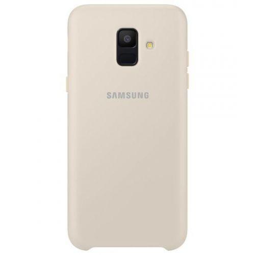 Capa Samsung Dual Layer para Galaxy A6 2018 GOLD (EF-PA600CFE)