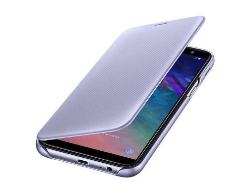 Comprar  - Capa Samsung Flip Wallet para Galaxy A6 2018 purple