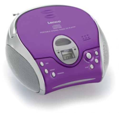 Comprar  - Radio CD Lenco SCD-24 purple