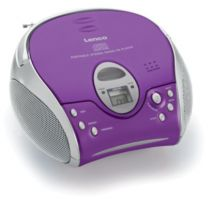 Radio Cassette CD Player - Radio CD Lenco SCD-24 purple