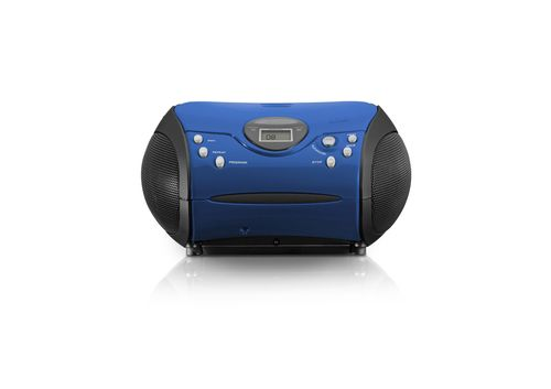 Radio CD Lenco SCD-24 blue/black